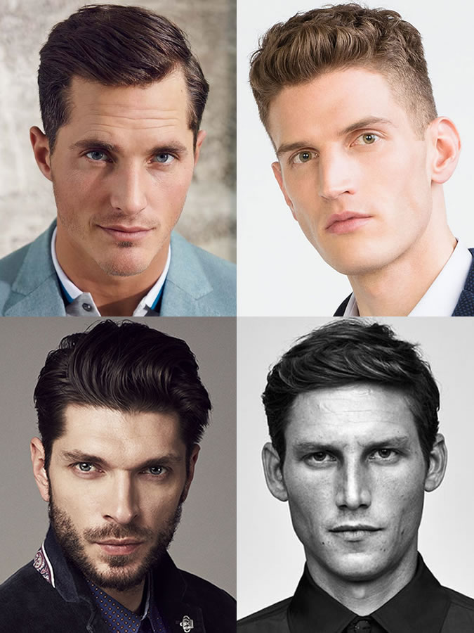 Male haircuts in the form of a face. Haircuts and hairstyles for ...